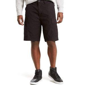 Levi's Black Cargo Shorts